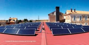 Installation photo of self-consumption by Univergy Solar