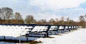 What impact does snow have on solar panels